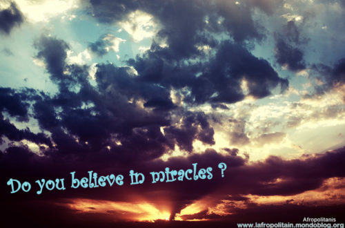 Article : Do U Believe in Miracles ?