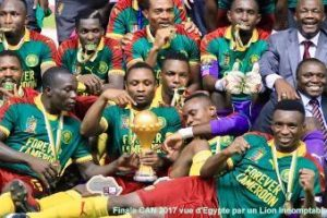 Champion d'Afrique de Football 2017