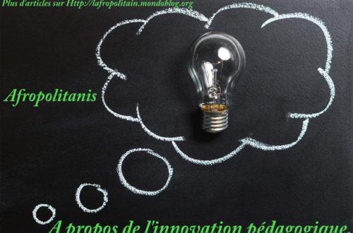 Article : A propos de l'innovation pédagogique !