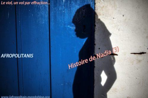 Article : L'histoire de Nadia (3) : le viol, un vol par effraction doublé d'une violence mentale inouïe