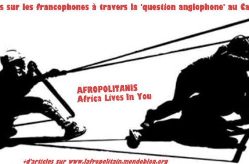 Article : 10 constats sur les francophones à travers le «problème anglophone» au Cameroun