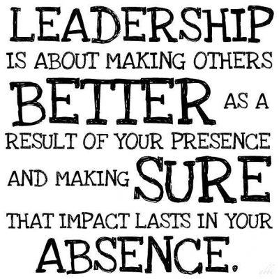 Servant leadership last long.