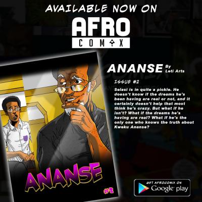 Ananse © Leti Arts @Afrocomix