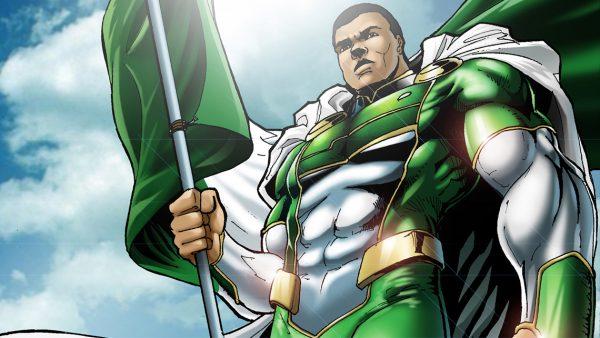 Guardian-Prime - African superhero by Comic Republic @ Anime Complexium