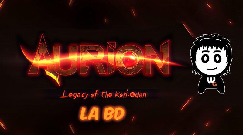 aurion-la BD_Kiroo Games_Kori Odan_Comics