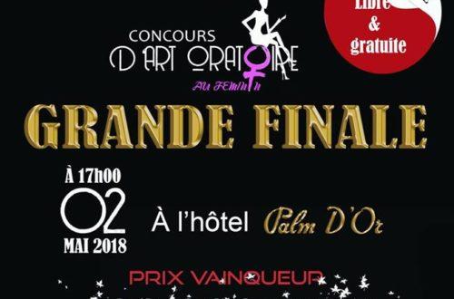 Article : La grande finale du concours d'art oratoire au féminin de Charly Tchatch