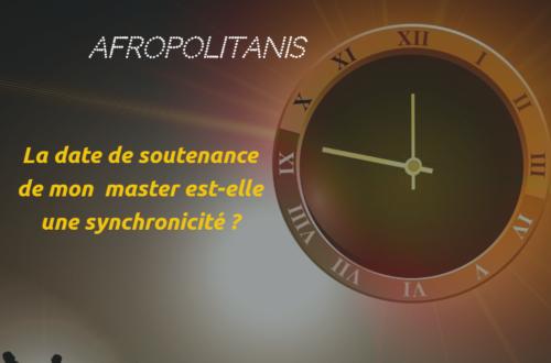 Article : La date de soutenance de mon 3ème master est-elle une synchronicité ?