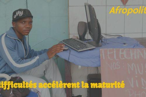 Article : Les difficultés accélèrent la maturité