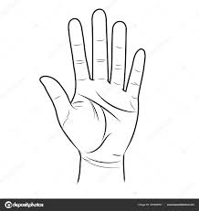 Signe de la main pour demander à une voiture de ralentir au Cameroun. Credit: depositphotos.com
